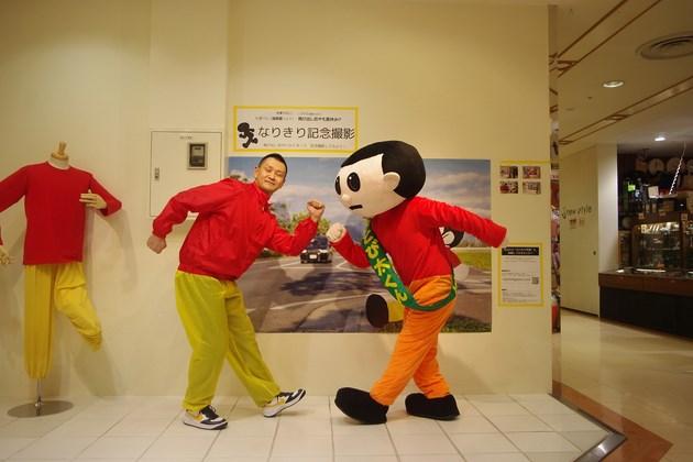大津パルコ4階で催された「なりきりとび太くん記念撮影会」の模様。みなさんに楽しんでいただけたと思います。